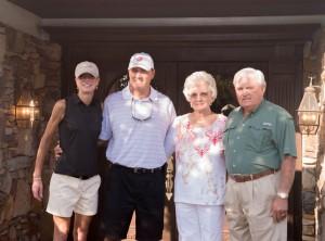 Dian, Chad, Sybil & John Faye Berry