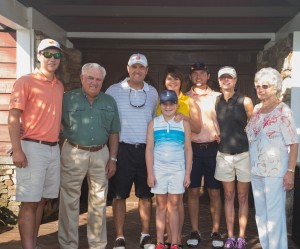 Zac, John F., Chad, Sarah C., Tara, Alex, Dian & Sybil Berry